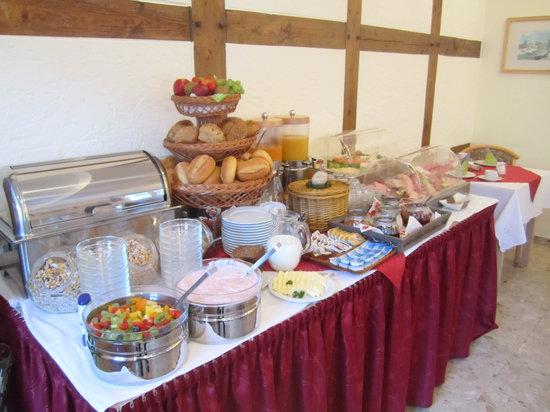 Hotel Domschatz : Frukostbuffen