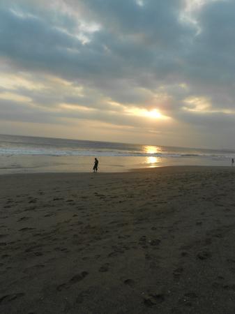 Homestay Bali Starling: zonsondergang