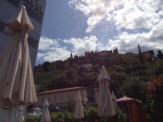 Hotel Caravel: panorama dalla piscina