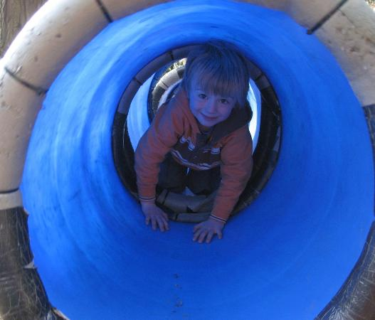 Bassenfell Manor Christian Centre: Barrels in play area