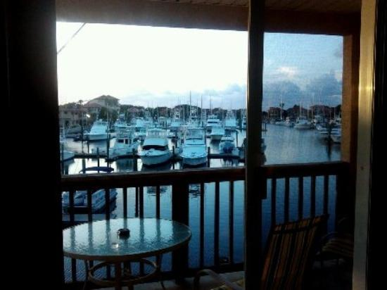 Inn at Camachee Harbor: view from room