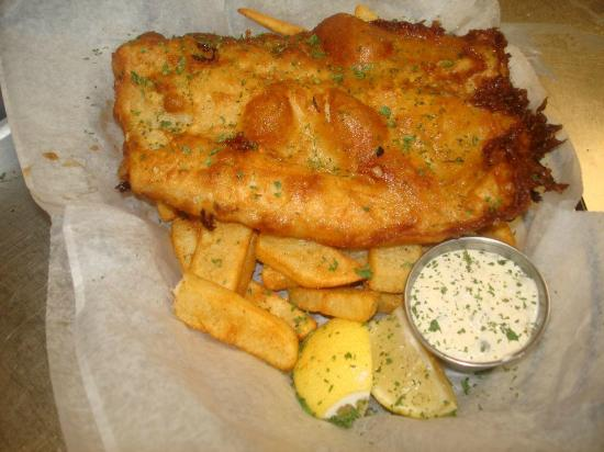 Brogues Downunder: Fish & Chips