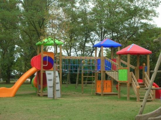 Camping Villaggio Rubicone: parco