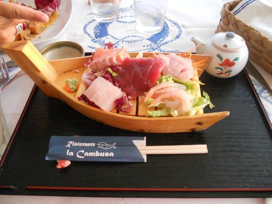 Ristorante La Cambusa: Sashimi