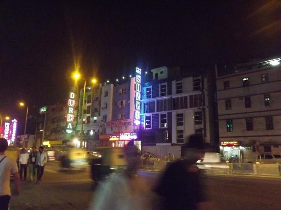 โรงแรมซิงห์ เอ็มไพร์ ดีเอ็กซ์: vista da rua