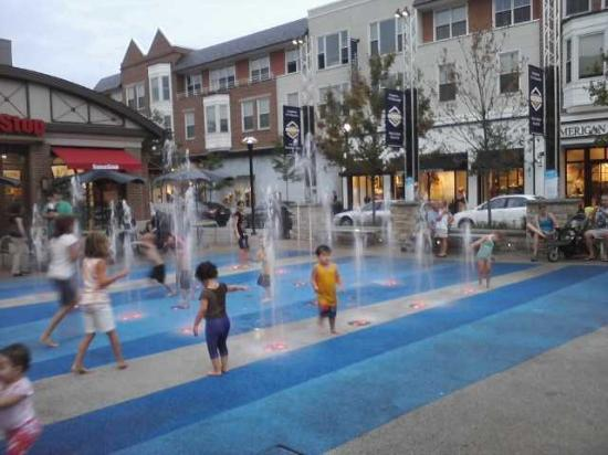 Crocker Park Kid Splash Pad