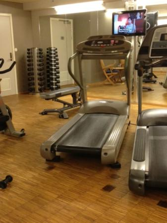 Scandic Nidelven: One view of the fitness room