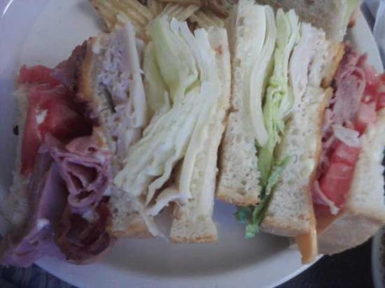 Steady Eddy's Cafe: Yummy, big sandwich