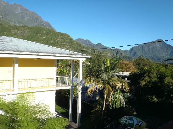 Salazie, Reunion: Le bâtiment des chambres