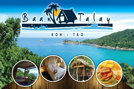 บ้านทะเล กะเต่า: Baan Talay Logo