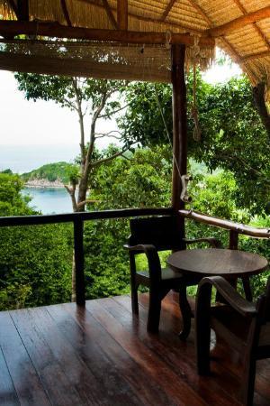 บ้านทะเล กะเต่า: Seaview Hut Balcony