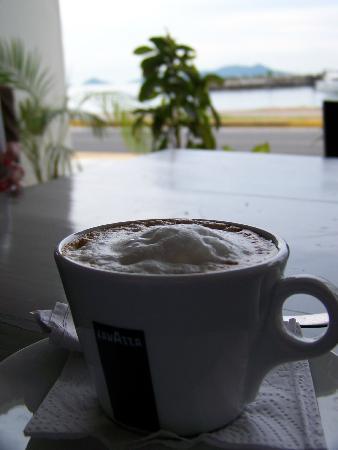 Amador Ocean View Hotel & Suites: cafe con leche