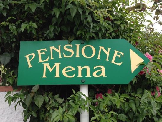 Pensione Residence Mena: l'arrivo...