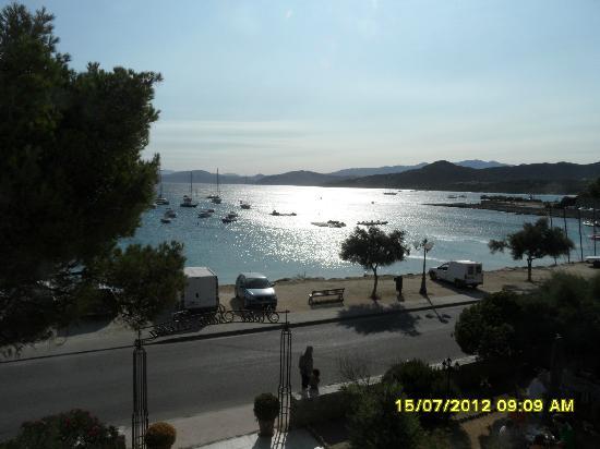 Hotel Isula Rossa : vista dal nostro terrazzo