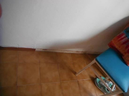Residence Baia Turchese: Battiscopa mancante