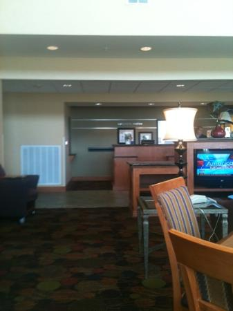 Hampton Inn & Suites Moline-Quad City International Airport: lobby