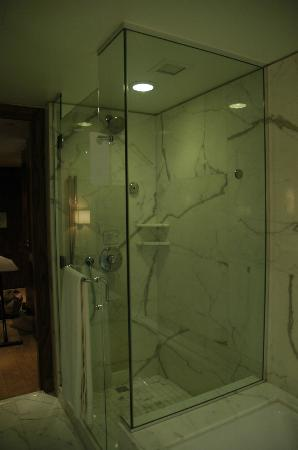 Shangri-La Hotel, Vancouver: Bathroom shower