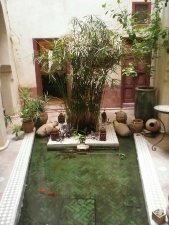 Riad les Inseparables: Le premier patio