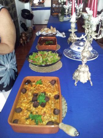 Casa da Falesia: La meravigliosa cena di Amorita