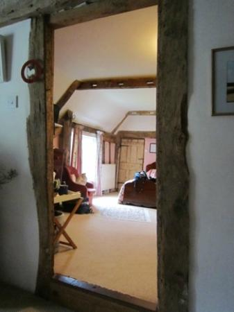 High House Farm: Entry to Bedroom