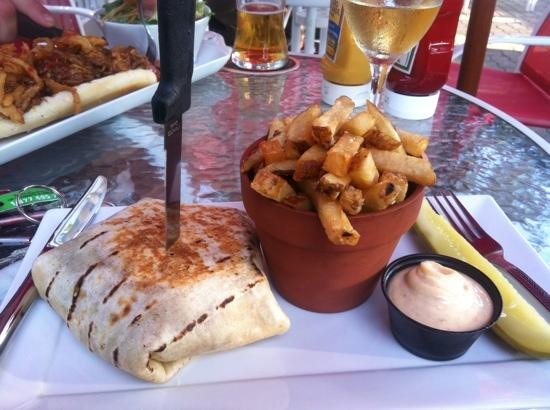 Jack's Gastropub : Tijuana Turkey Burger!!