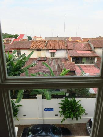 The Sterling Boutique Hotel Melaka: The view from the window