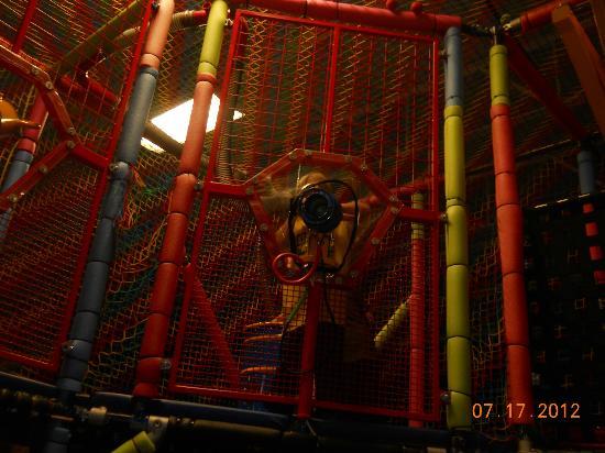 The Zone Family Fun Center: nef ball area air gun