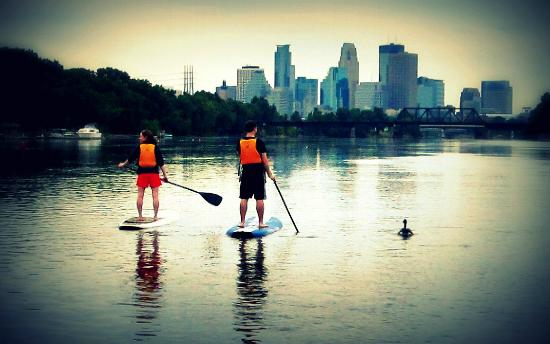 Stand Up MN Paddleboarding Day Tours