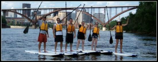 Stand Up MN Paddleboarding Day Tours: A fun paddleboard tour in St. Paul!