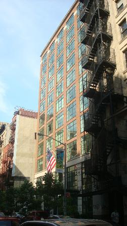 The Crosby Street Hotel.