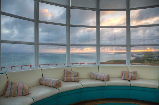 Belle Tout Lighthouse: Beautiful Sunset!