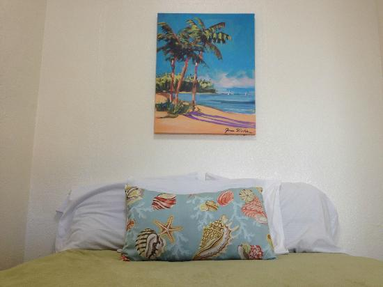The Patriots Boutique Motel: Beach themed as we are walking distance to some of the most beautiful beaches in California