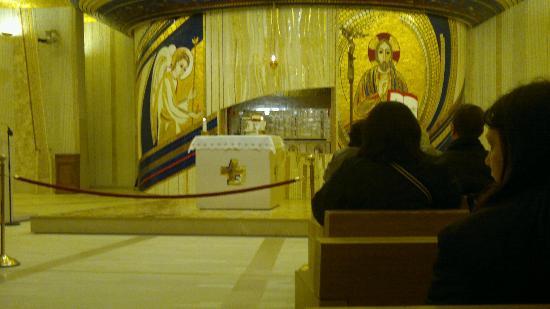 Chiesa di San Pio: Cripta di Padre Pio