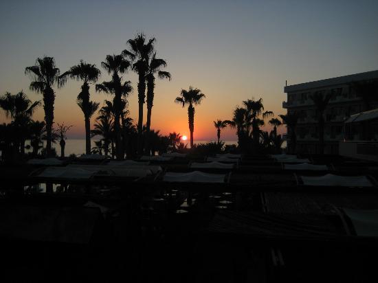 Hotel St. George: sunset