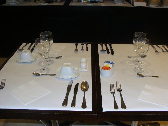 Lugano Imperial Suites: Desayuno