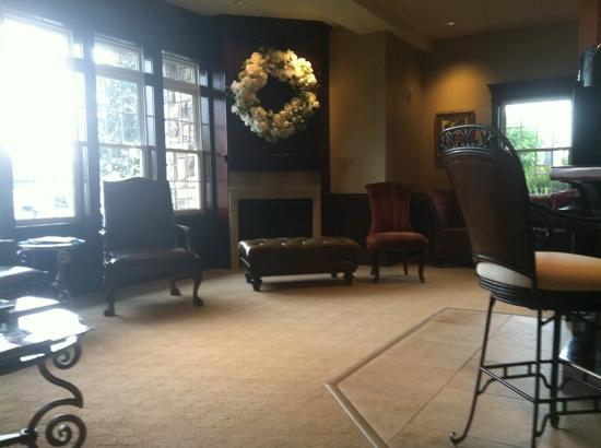 Kimberley's A Day Spa Ltd. : coffee lounge in 1st floor waiting room