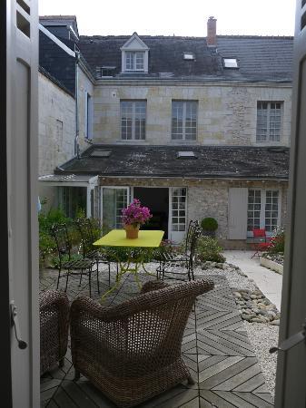 Hotel de Biencourt: Petite cour intérieure