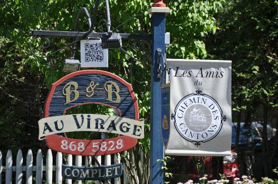 Au Virage B&B : Au Virage coté avenue