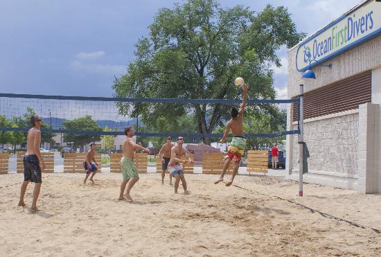 Ocean First: Our Summer Party Volleyball Tournement