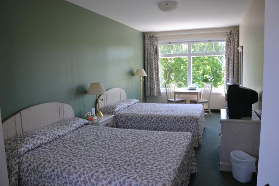 Le Faubourg : Vue de notre chambre