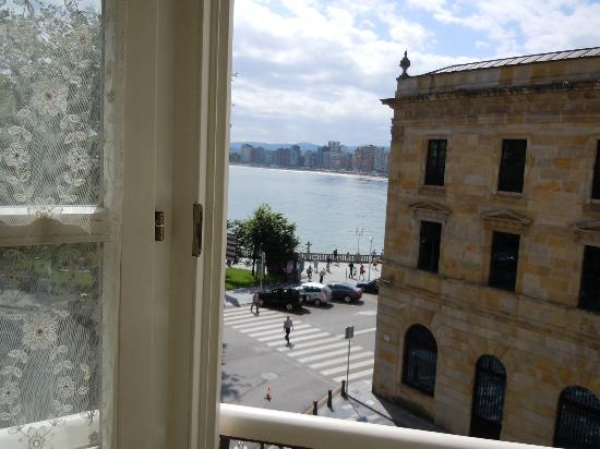Hotel Asturias: View from room