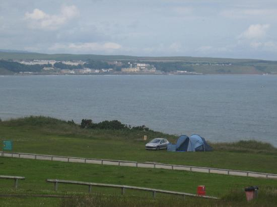 Reighton Sands Holiday Park - Haven: veiw from field across from our tent