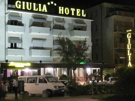 Hotel Giulia: Giulia Hotel Vista di Notte