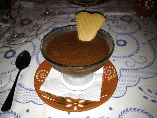 Taberna Minhota: Mousse de Chocolate