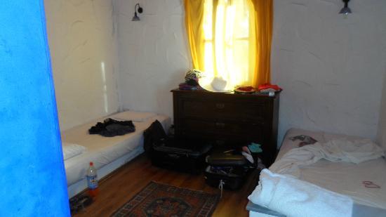 Hotel Samdan: the twin room