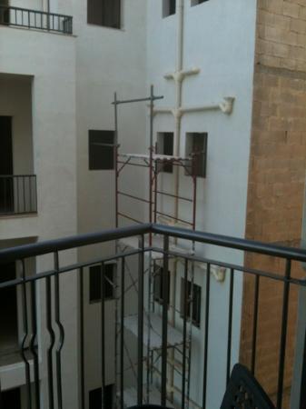 Le Meridien St. Julians: view from 703