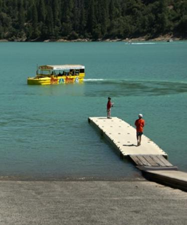 Bass Lake Duck Tours: Take a tour of beautiful Bass Lake on water and land.
