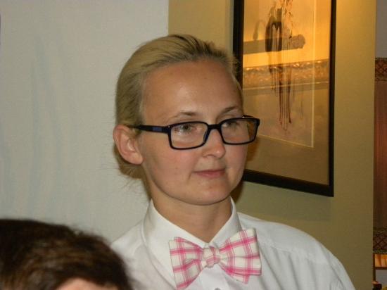 Polska Rozana : Our great waitress