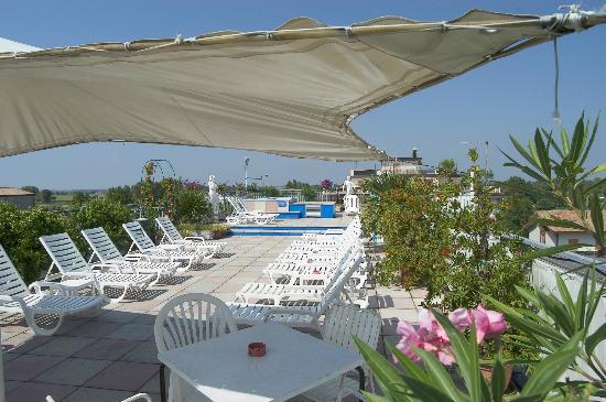 Hotel Granada: Solarium