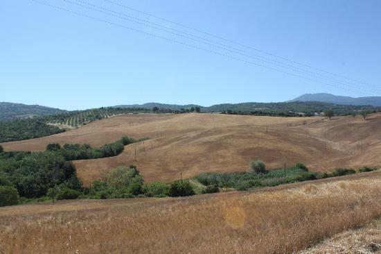 Agriturismo Grossola: Il panorama